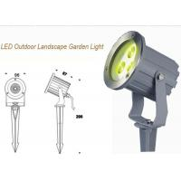 Wholesale IP67 RGB Outdoor LED Garden Lights 3W / Exterior Landscape Garden Spike Light from china suppliers