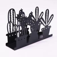 Buy cheap Tabletop Cactus Design Metal Napkin Holder Standard Size For Restaurant / Hotel from wholesalers