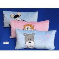 Buy cheap 100% Cotton Fabric Blue and Pink Cartoon Plain Custom Decorative Pillows for Bed from wholesalers