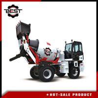 Buy cheap Small Machinery Type 2 Cubic Mobile Concrete Mixer Truck Concrete Mixer Lorry from wholesalers