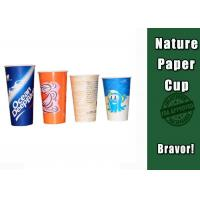 Buy cheap Double PE Coated Cold Drink Cups Food Grade For Coffee Shops / Offices from wholesalers