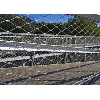 Buy cheap Knotted Type Metal Wire Mesh SS316 Wire Rope Mesh Fencing 1.2 Mm To 4.0 Mm CE SGS from wholesalers