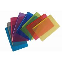 Buy cheap Transparent Color Folder with Plastic Bar /Slide -Lock Folders from wholesalers