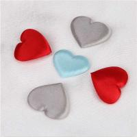 Buy cheap Mixed Colors Padded Hearts Embellishments Applique Crafts Engagement Parties Supplies from wholesalers