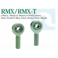 Wholesale RMX / RMX - T Precision Heavy Duty Rod Ends , PTFE Lined Threaded Solid Rod Ends from china suppliers