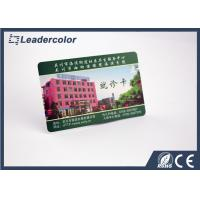 Custom Die Cut 125khz RFID Card , PVC Smart Card With Magnetic Stripe Manufactures