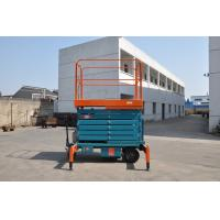 Buy cheap Mobile Hydraulic Elevating Platform , Scissor Platform Lift for Library / Restaurant from wholesalers