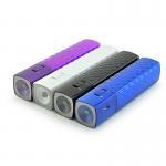 Buy cheap 2000mAh LED Flashlight Slim Mascara Portable Power Bank, Mascara Phone Charger for iPhone from wholesalers