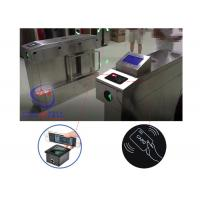 Buy cheap infrared automatically turnstile mechanism barcode reader swing hidden gate barrier for student access from wholesalers