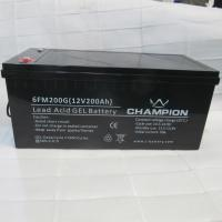 Buy cheap 12V 200AH Sealed Gel Lead Acid Battery For Solar Cell Power Generation from wholesalers