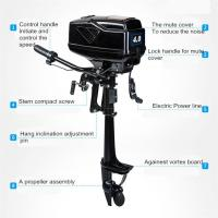Buy cheap Electric Outboard Motor For Sale from wholesalers