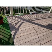 WPC composite deck boards for wpc stairs lawn decking garden decking boards Manufactures