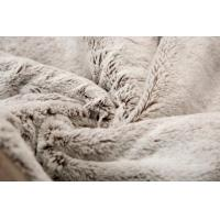 Buy cheap Super Soft Fake Fur Blanket For Home Hotel Bed / Chair , Plush Fake Fur Comforter from wholesalers