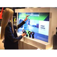 Buy cheap Customized Interactive Retail Store Displays Exhibit Management System Integrating Video Advertising from wholesalers