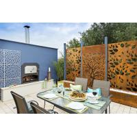 Buy cheap Powder Coating Aluminum Perforated  Panels For Garden Fence/Privacy Fence/Metal Fence from wholesalers