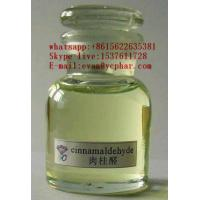 Buy cheap Pharmaceutical Raw Materials cinnamaldehyde Yellow Liquid as Flavor and Fragrance from wholesalers