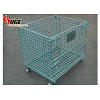 Buy cheap Diameter 5.8mm Wire Mesh Storage Containers Electro Galvanized Finish from wholesalers