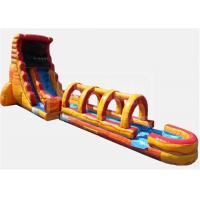 Buy cheap Obstacle  Jumpy Large Inflatable Water Slide Quick Set Up Conveninet Installation from wholesalers