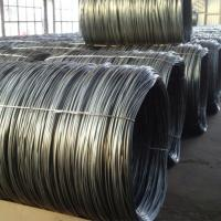 Buy cheap SWRH82B SWRH70B Hot Rolled Steel Wire Rod For Construction Material from wholesalers