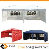 Buy cheap Factory Sale Easy Pop up Outdoor Party Wedding Large 10X20 Feet Canopy Tent Removable Sidewalls Water Resist Gazebos from wholesalers