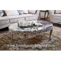 Buy cheap Coffee table Solid wood Coffee table marble coffee table antique furniture FC-103A from wholesalers