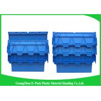 China Nested Customized  Plastic Attached Lid Containers Food Grade Environmental Protection on sale