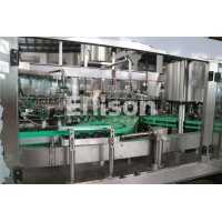 Buy cheap PLC Control CIP Cleaning SUS Aerosol Can Filling Machine from wholesalers