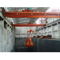 EOT Crane With Grab Bucket For Waste Management/Power Generation, A8 Manufactures