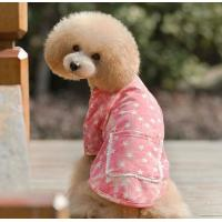 Buy cheap Handmade 300g Cotton Fleece Personalized Dog Clothes With Pentagram Pattern XXXL XS Size from wholesalers