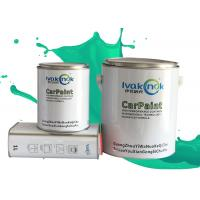 Buy cheap Quick Drying Auto Body Metal Filler , Deep Emerald Green / Flat Black Auto Paint from wholesalers