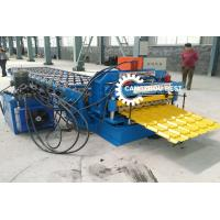 Buy cheap PPGI Color Stone Coated Roof Tile Machine Steel Roofing Sheet Making Machine from wholesalers