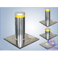 Custom Manual Hydraulic Security Bollards , Stainless Steel Automatic Road Blocker Manufactures