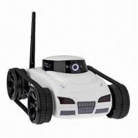 Buy cheap APP Controlled Wireless Wi-Fi Control RC Spy Tank with Camera (White), New Arrival from wholesalers