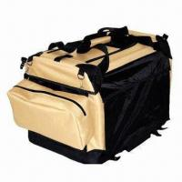 Wholesale Foldable Soft Dog Carrier Crate with 2 Doors and 2 Small Bags, Foldable for Easy Transportation from china suppliers