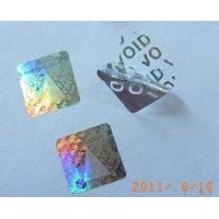 Buy cheap Void Tamper Evident Hologram Sticker from wholesalers