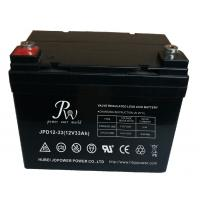 Wholesale 33Ah 12v SLA Lead Acid Battery For Solar Storage , Deep Cycle VRLA Battery from china suppliers