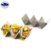 Buy cheap Food Grade Small Metal Taco Holder Waterproof Rustproof For Restaurant from wholesalers