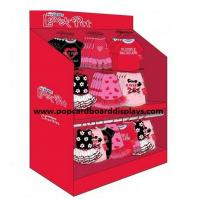 POS Garment Corrugated Display Stand , Advertising Baby Garment Display Manufactures