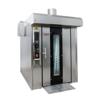 Buy cheap 460*720mm Tray Szie  380v Rotary Gas Oven For Industrial Bakery Equipment from wholesalers