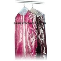 Buy cheap Garment Cover, Clear Poly Dry Cleaning Bags, disposable garment bags, Custom Poly Bags from wholesalers