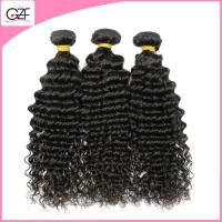 Buy cheap No Chemical 100 Human Hair Tight Curly Weave Hair Unprocessed Real Natural Human Hair from wholesalers