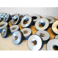 Buy cheap Lightweight Thread Ring Gauges , Durable Go No Go Thread Ring Gage from wholesalers