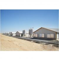 Buy cheap galvanized prefabricated steel frame building chicken poultry house shed from wholesalers