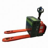 Buy cheap Fuel Cell Electric Pallet Truck with Arc Streamline Body from wholesalers