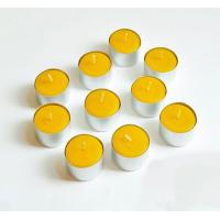 Buy cheap Bulk Pure Beeswax Tea Lights Candle In Aluminum Cup from wholesalers