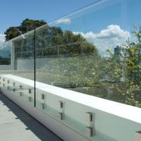 China 6+1.52+6 mm Frameless tempered laminated glass railing clear glass balustrade on sale