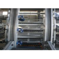 Buy cheap High Strength Layer Poultry Farming Equipment Cross - Opening Door Design from wholesalers