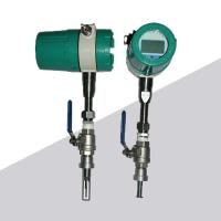 Buy cheap Digital insertion type RS485 thermal gas mass flow meter for air from wholesalers