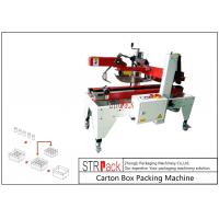 Buy cheap Flaps Carton Packing Machine / Automatic Carton Folding Machine With Both Sides Drive from wholesalers