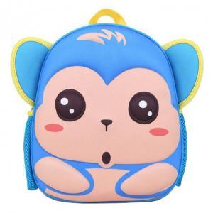 Wholesale Cartoon Animal School Children Bag Kindergarten Kids Backpack 3D Eco - Friendly from china suppliers